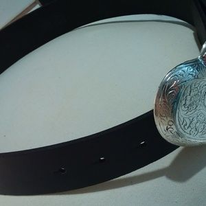 Beautiful leather belt